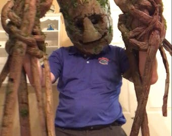 Groot (Guardians of the Galaxy ) hands/gloves cosplay