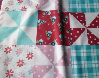 50 x 50 cm fabric cotton patchwork in various patterns