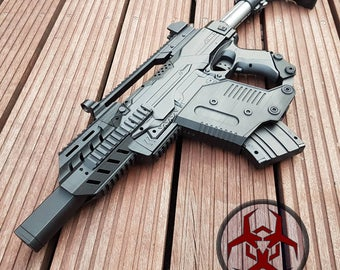 SIG MCX / Kriss Vector / G36c Style Kit for Nerf Stryfe  - 3D printed Cosplay Larp (only 3D printed parts)