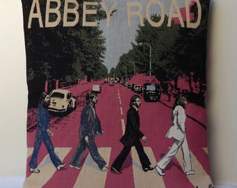 "Pillow cover ""ABBEY ROAD"" the BEATLE tapestry cushion 40 * 40"