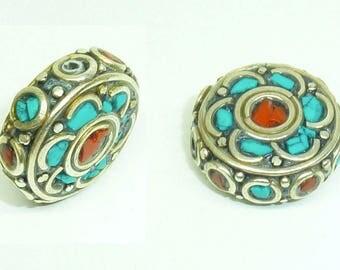 Ethnic Nepalese bead PE565
