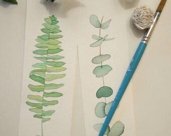 Botanical bookmarks