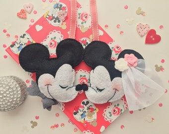 Disney Mickey & Minnie Mouse Wedding Favour
