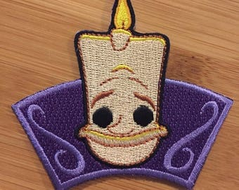 Disney Lumiere Funko Pop Patch