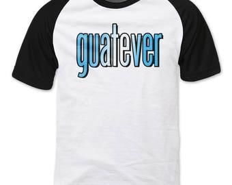GUATEVER Guatemala  Raglan sleeve T-shirt