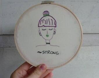 """Portrait """"Strong"""""""