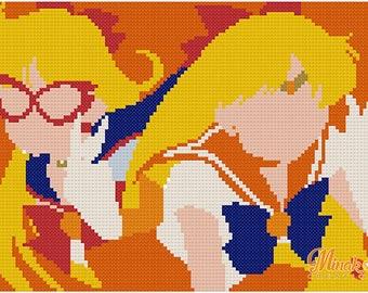 Sailor Venus PATTERN CROSS STITCH