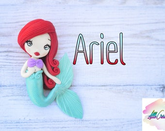 Ariel the Little Mermaid polymer chibi PROMOTION