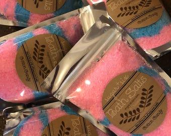 Cotton Candy Scented Bath Salts ~ 5 Ounces