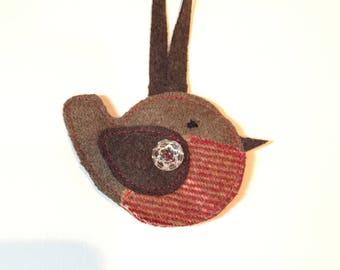 christmas robin decoration
