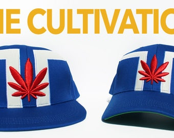 The Cultivation Crown | dopeIDeas Inc. | Limited Edition Vegan Weed Snapback & Dad Hat