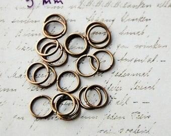 5 9 mm in diameter metal rings bronze