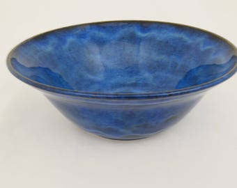 Celestial Blue Skies - Handmade Pottery Bowl