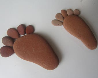 pcs Sea Pottery ,Terracotta for crafts,footprint