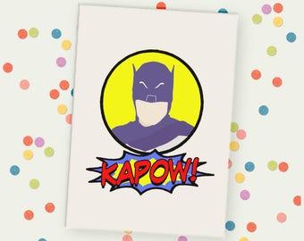 Adam West Batman Unframed Print