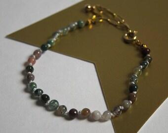 Fancy Jasper Knotted Bracelet