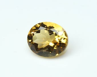 Natural Citrine Faceted Oval Nice cutting 8x12x7 MM Citrine Oval CODE CT28