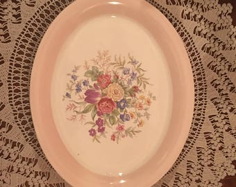Homer Laughlin (K43N5) Eggshell Platter Made in the USA