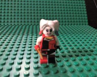 Lego DC Harley Quinn custom miifigure