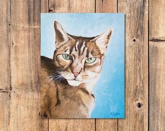 """Custom Pet Paintings / Oil on Canvas / 8"""" x 10"""""""