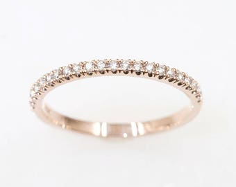 diamond wedding band etsy