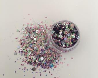 Mermaid Dreams • Loose Glitter • Festival Glitter • Chunky Glitter