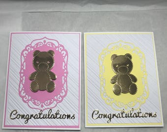 New baby or Baby shower card