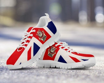 Proud Brit Running Shoes - White Sole