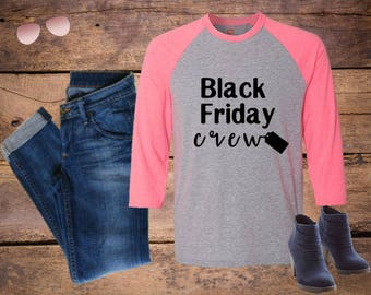Black Friday Crew shirt, Personalized with name