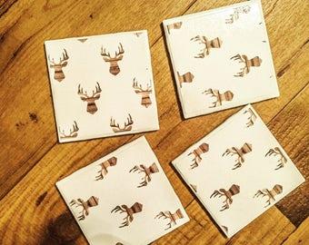 Country Living Ceramic Coasters