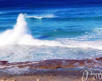 Wave on the Reef Photograph