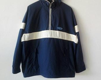 Vintage 90s OceanPacific jacket hoodie , sweater , pullover , sweatshirt , halfzipper , nicedesign , M-L