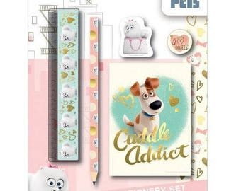 5-piece The secret Life of Pets character set
