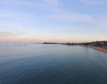 Peaceful Ocean at Collaroy - print