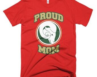 Proud Mom Short-Sleeve T-Shirt