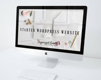 Starter WordPress Website package, Custom WordPress Website, Website, Web Design, WordPress Design, Blog Website