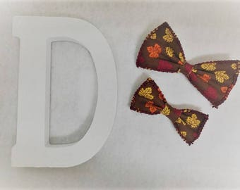 1st Day of Fall Bow Ties