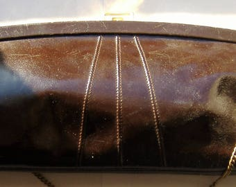VINTAGE JANE SHILTON Leather handbag