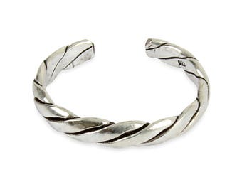 925 solid Sterling Silver Pattern Band Toe Ring