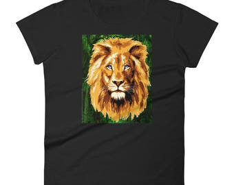 Women's Amazing Lion short sleeve t-shirt