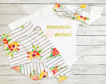 Baby Clothes Girl, Baby Girl Clothes, Mommy and Me Outfits, Baby Clothes, Baby Girl Clothes Newborn, Mamas Mini Outfit, Mommy and Me Outfits