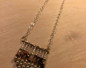 Tassel style Beaded Necklace