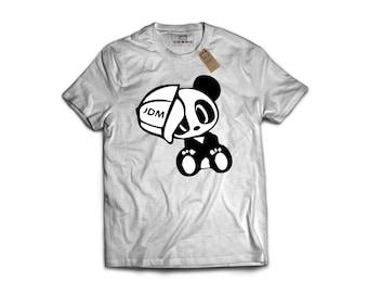 JDM Baby PANDA- Porsche, Sports Car T-Shirt, Classic Sports Car, Gift For Car Lover, Garage Art, Honda, Nissan, Toyota, VW, Audi, Mazda, Bmw