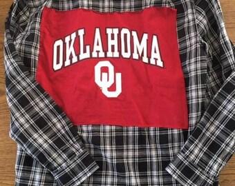 University of Oklahoma Flannel