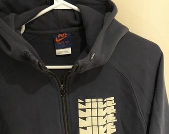 Vintage Nike Track and Feild Quarter-Zip Hoodie