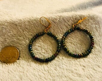 Hoop Earrings  size 3 1/2