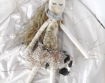 Handmade Cloth Fairy Doll about 42 cm tall by NoosaForestFairies