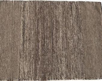 Unique wool carpet, hand woven, 84x111cm, Ascendis CAsA5