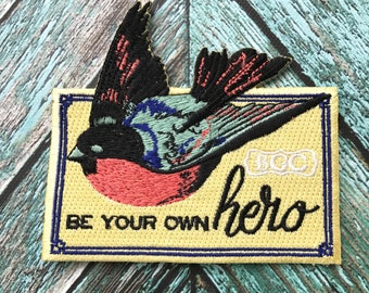 Be Your Own Hero Patch