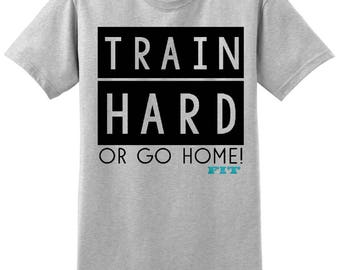 Workout Tank Top - Fitness Tank Top - Yoga Shirt -Gym Shirt - Workout Shirt - Muscle Tank Top - CrossFit Shirt - Train Hard or Go Home